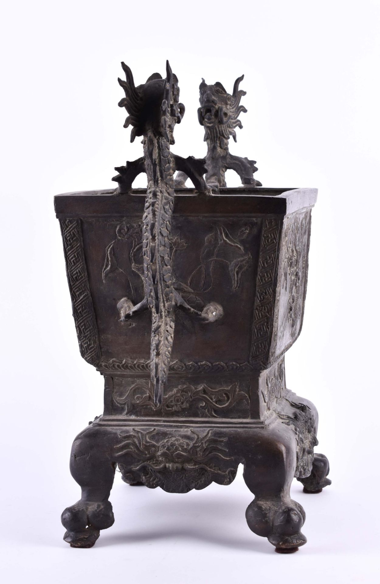 Temple incense burner Southern China, 18th century - Image 3 of 8