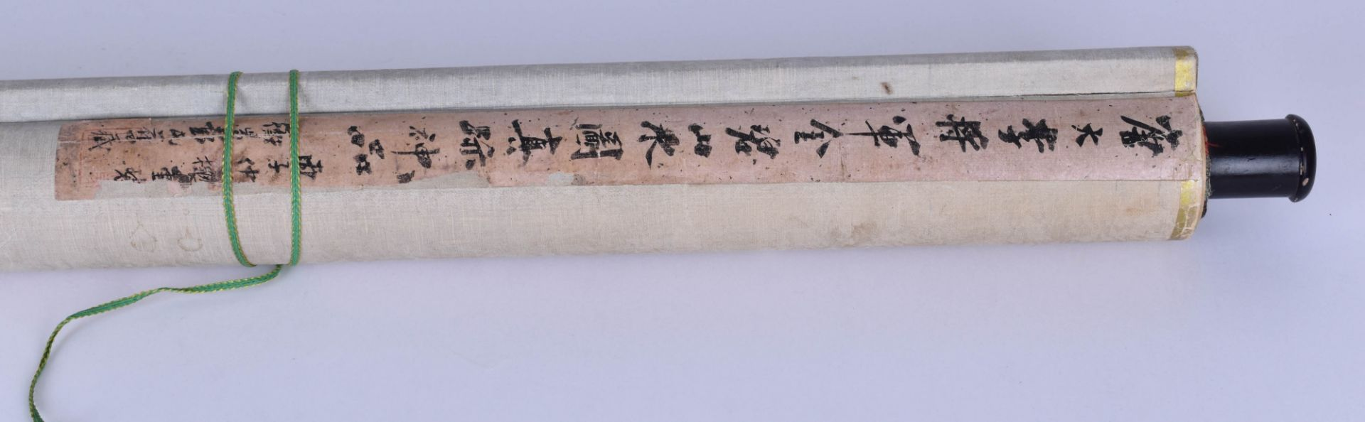 Scroll painting China Qing dynasty - Image 5 of 5