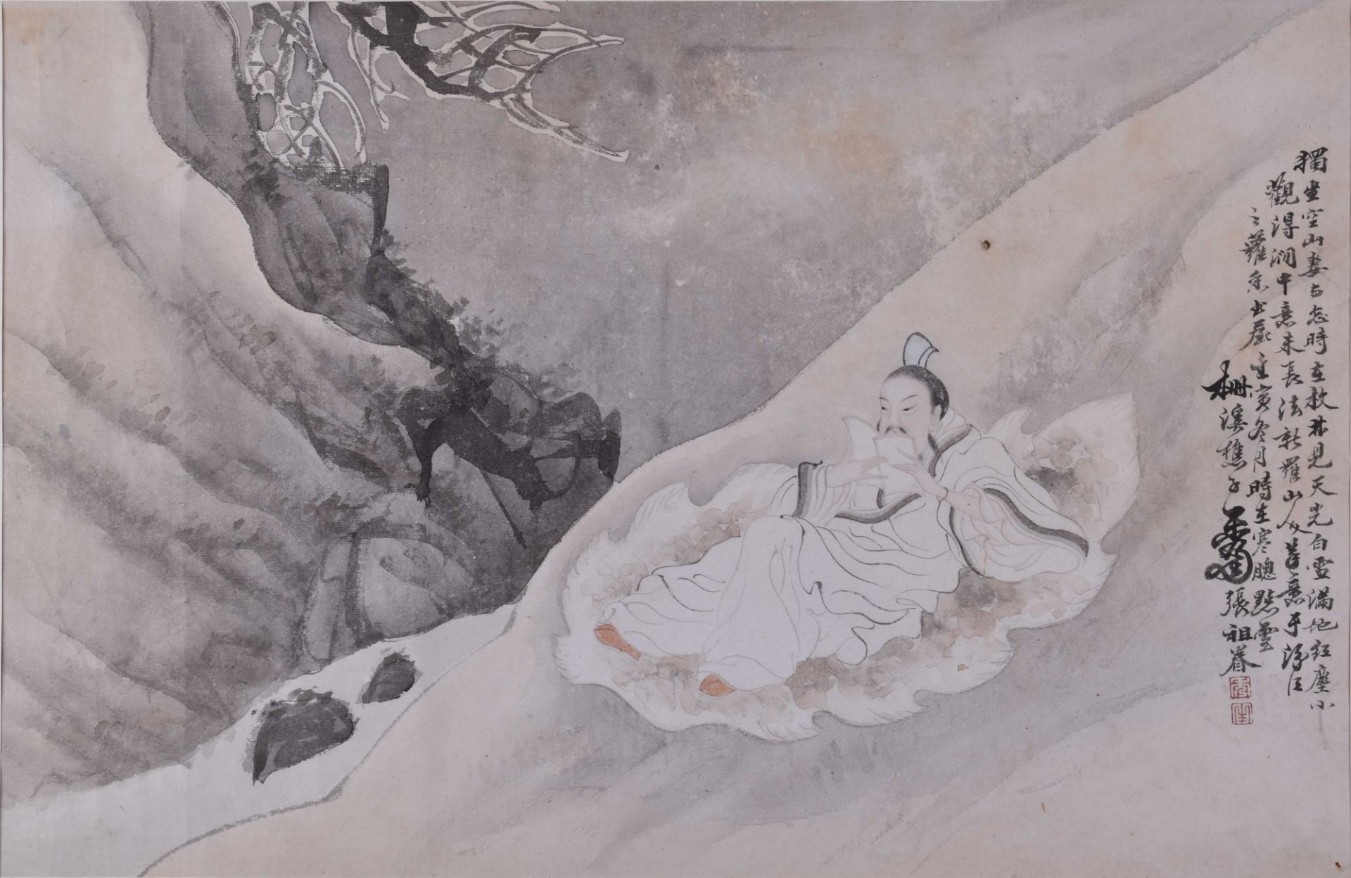 Zhang Zujiän Chinese artist of the 19th century
