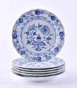 6 plates Meissen
