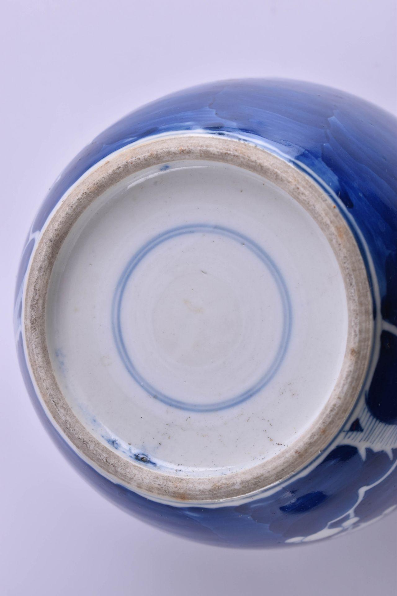 Ginger pot China Qing period - Image 7 of 7