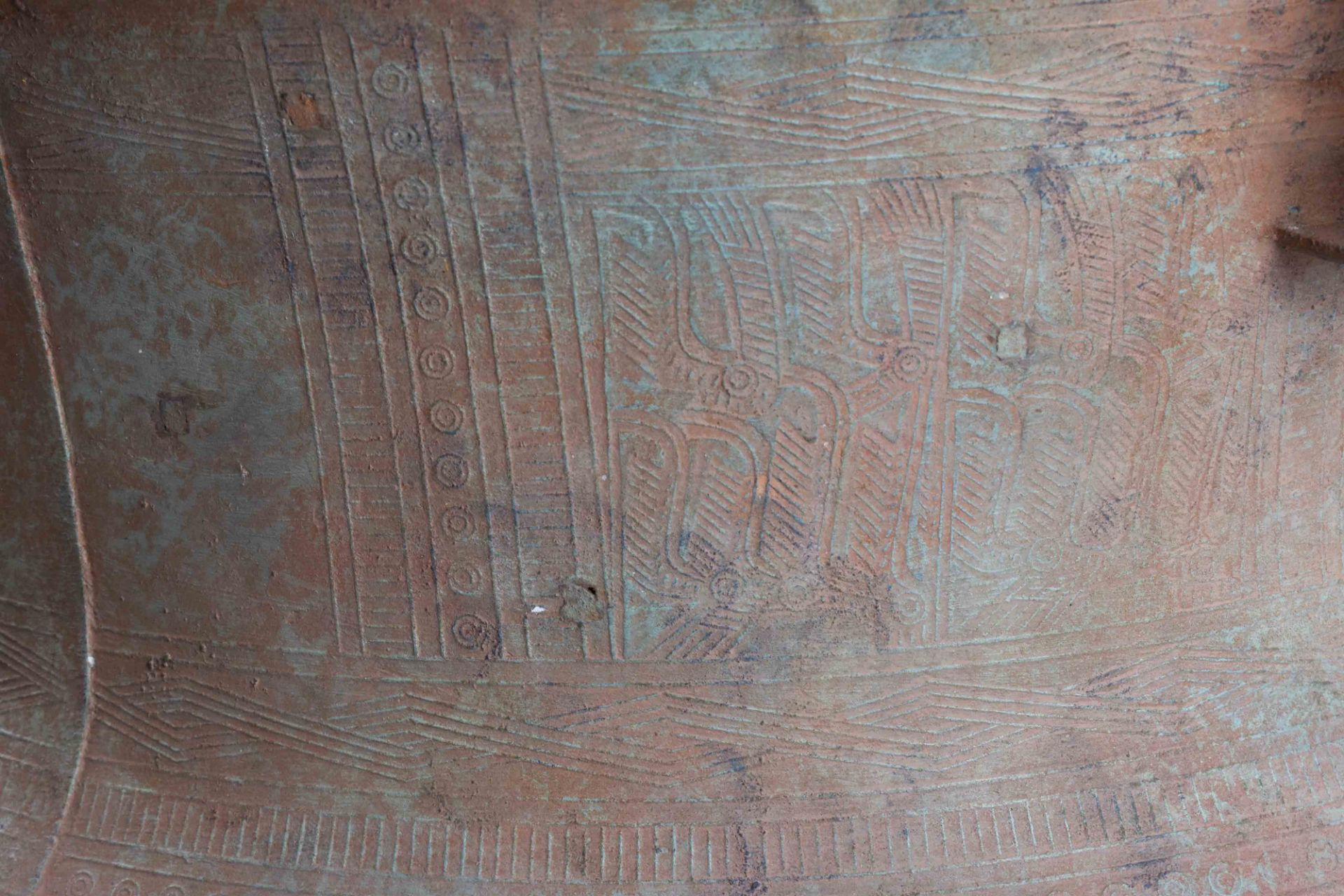 Ritual bronze drum Vietnam Dong-Son period - Image 6 of 9