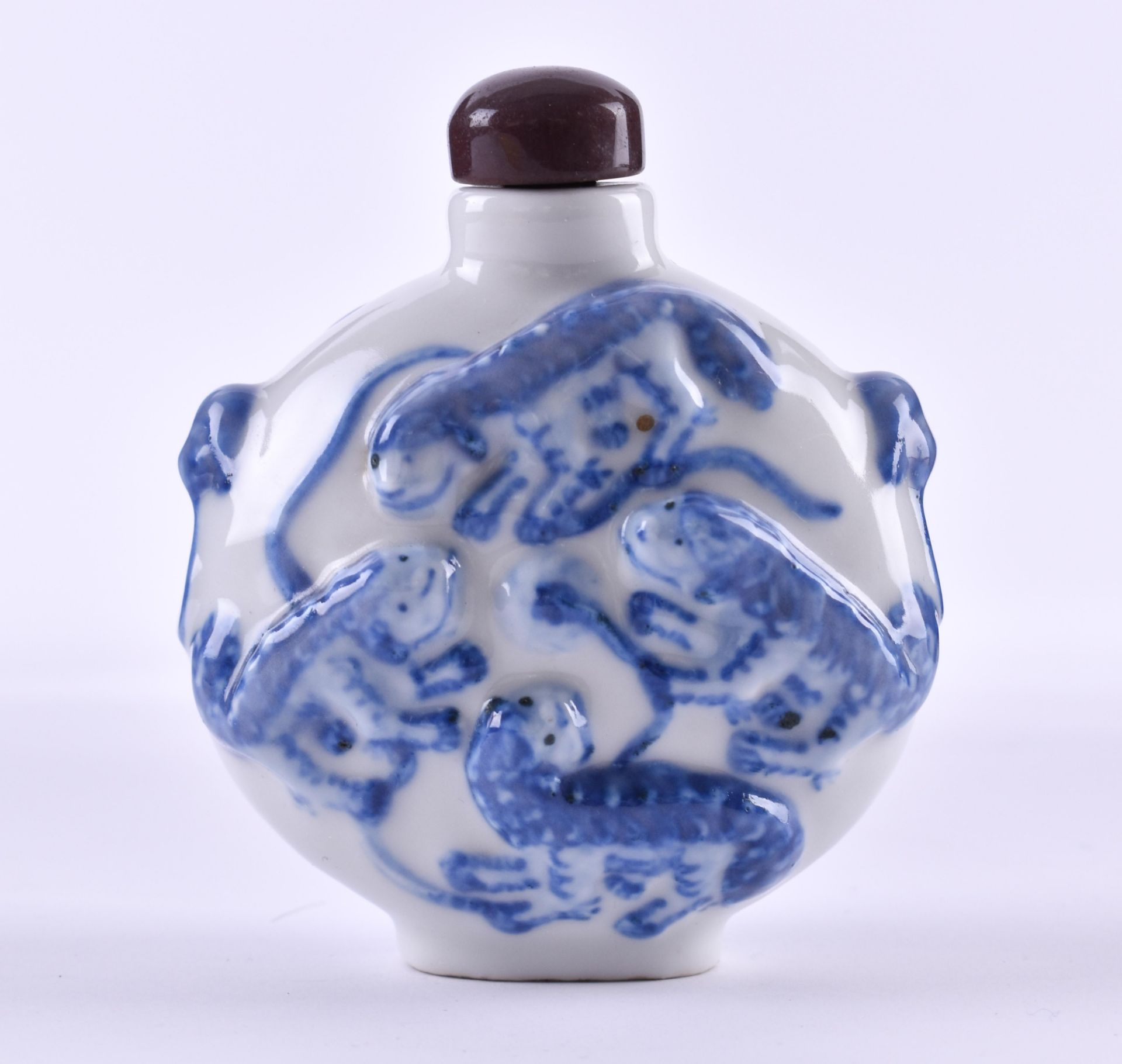 Snuffbottle China Qing dynasty - Image 3 of 5