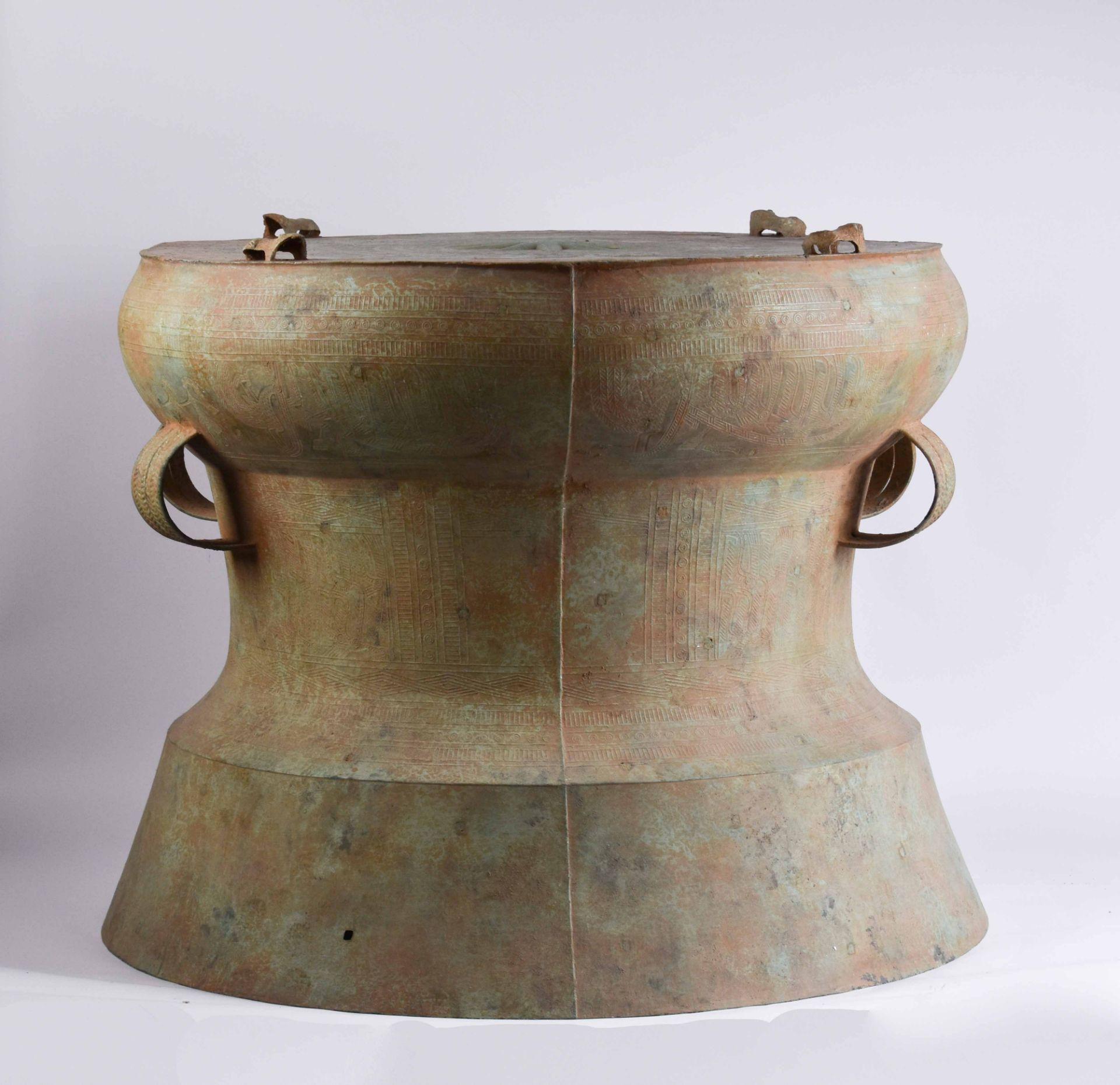 Ritual bronze drum Vietnam Dong-Son period