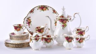 Coffee service Royal Albert