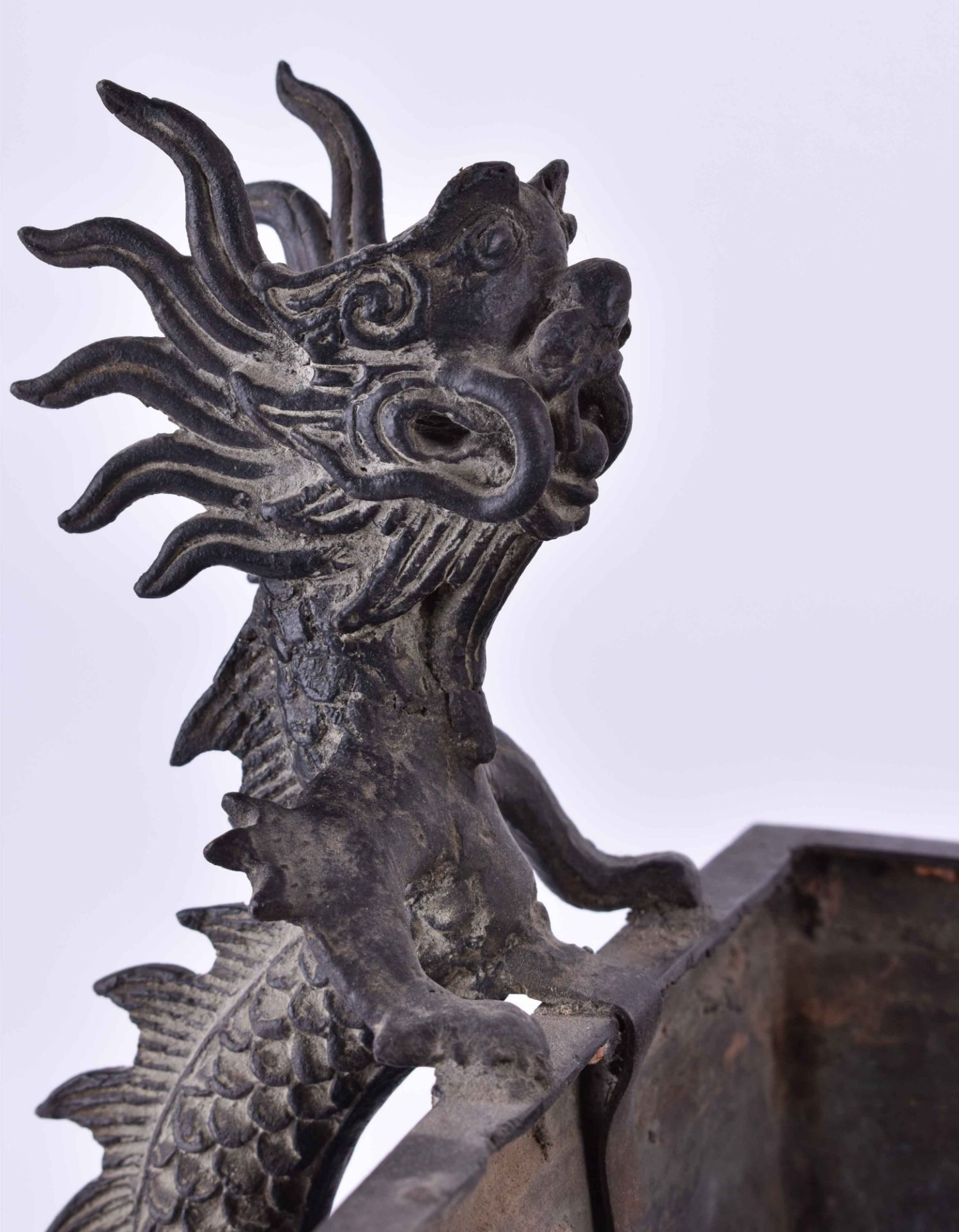 Temple incense burner Southern China, 18th century - Image 6 of 8
