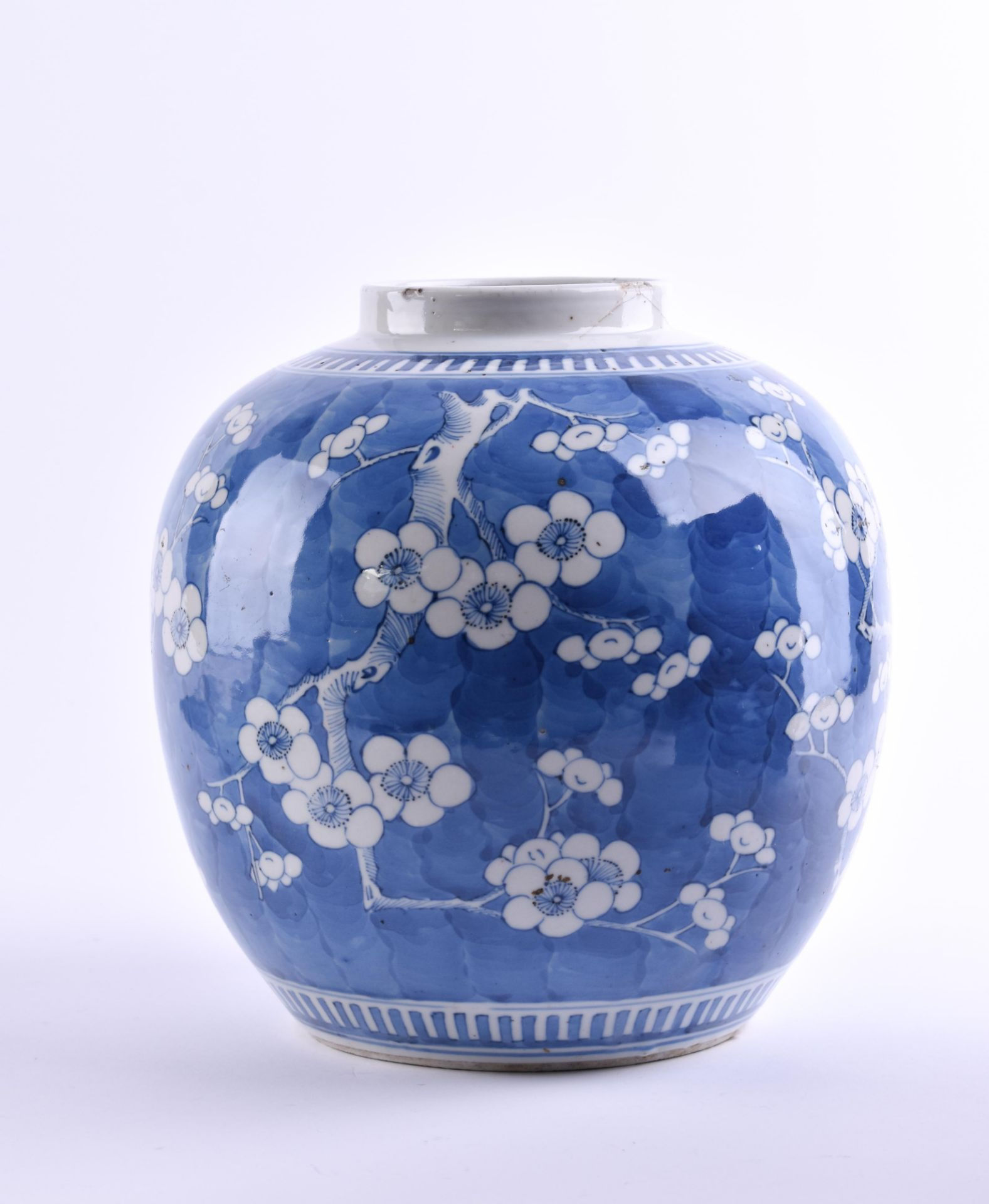 Ginger pot China Qing period - Image 3 of 4