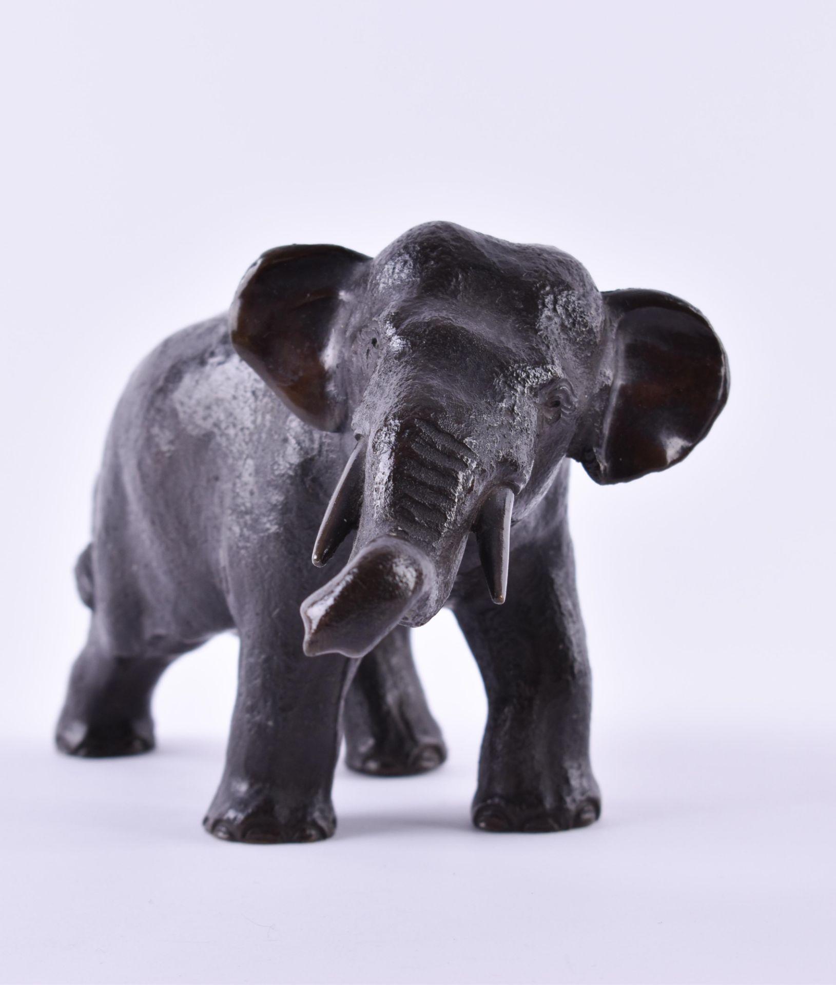 Elefant Bronze - Image 2 of 5