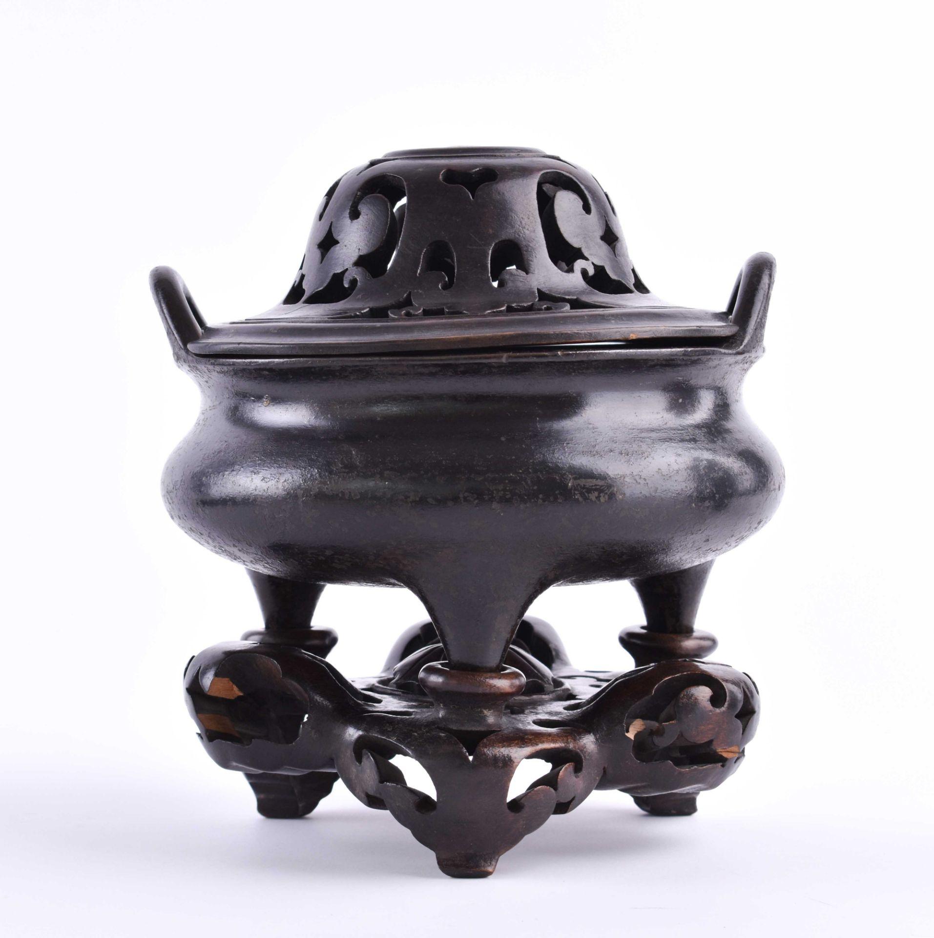 Tripod incense burner, China Ming dynasty