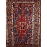 Old oriental carpet