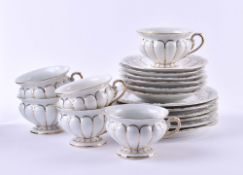 6 coffee sets Meissen