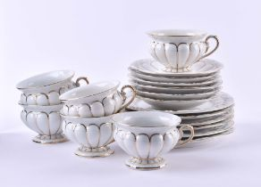 6 coffee sets Meissen