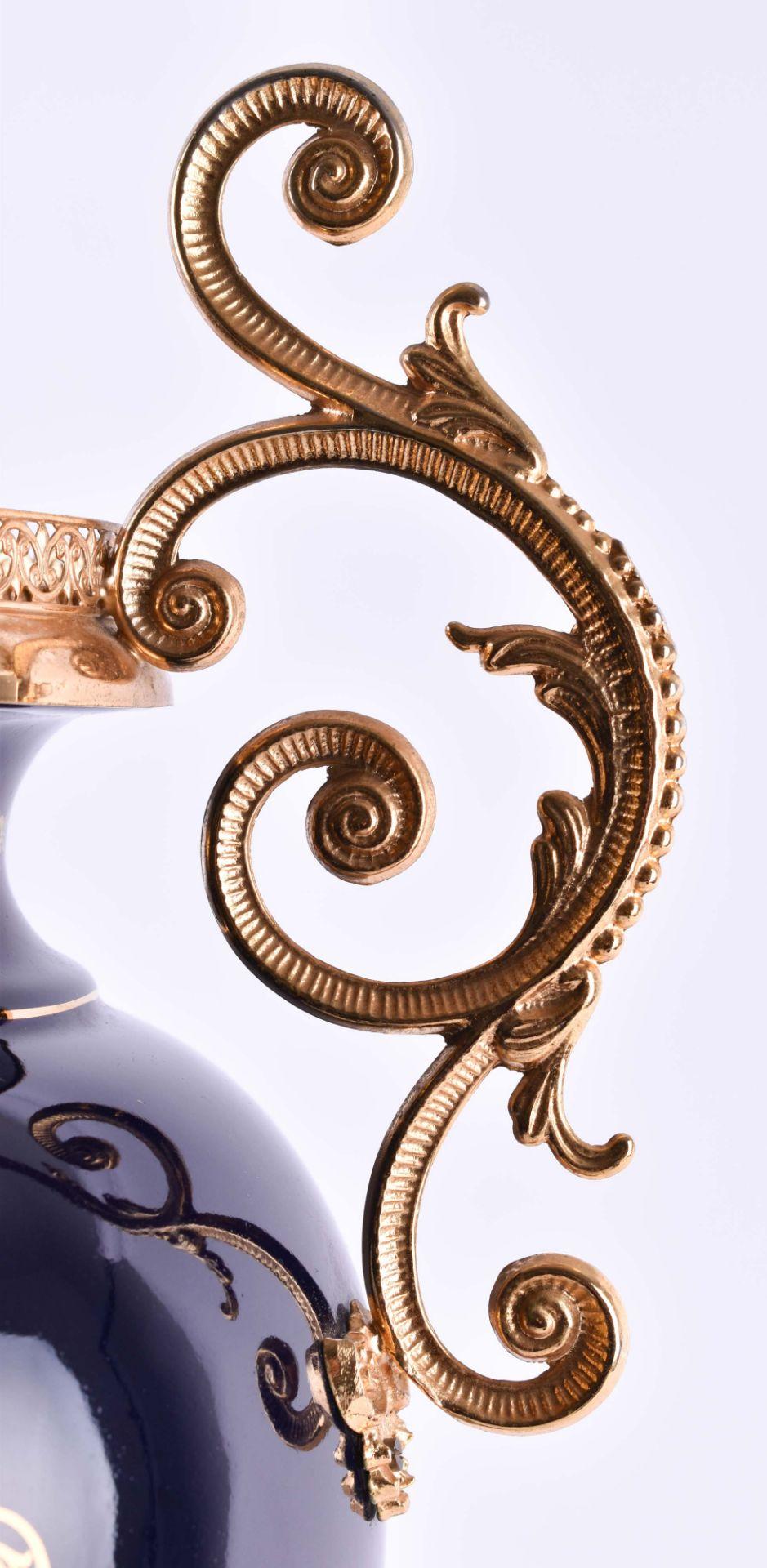 Pomp vase Limoges - Image 5 of 5