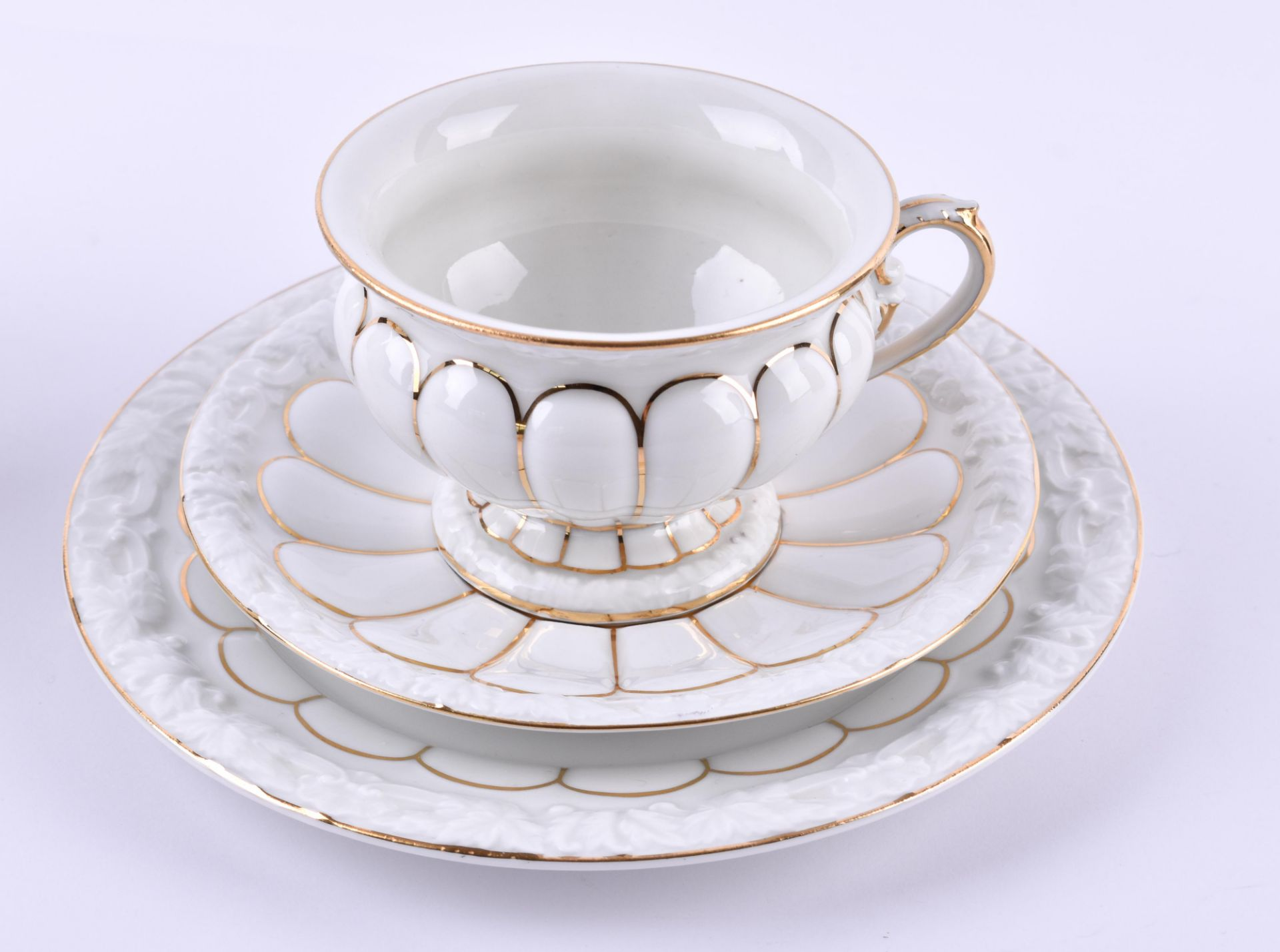 6 coffee sets Meissen - Image 2 of 5