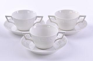 A group of porcelain KPM Kurland