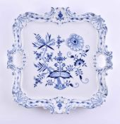 Large tray Meissen