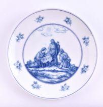 Christmas plate Meissen