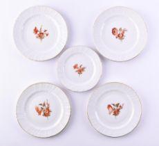 A group of porcelain KPM Neu Osier