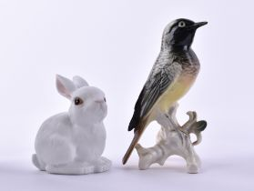 Two animal figures Ens and Rosenthal