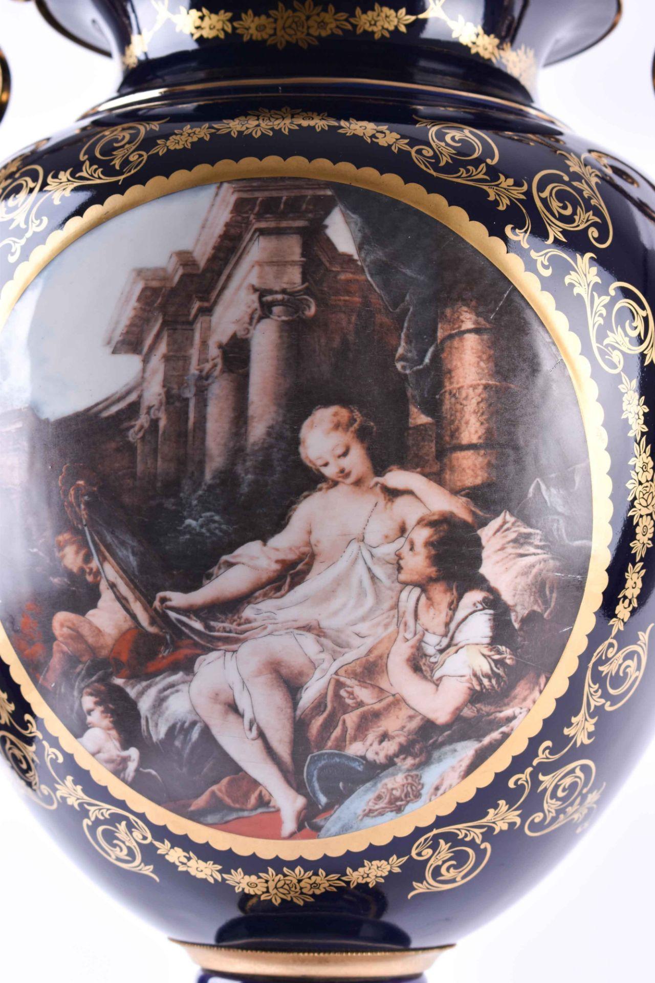 Pomp vase Limoges - Image 3 of 5