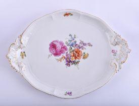 Large serving plate KPM