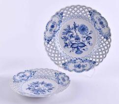 2 plates Meissen