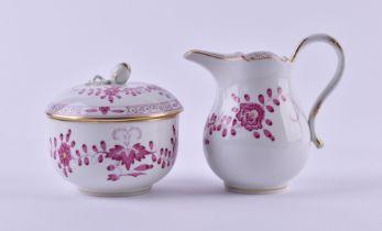 A group of porcelain Meissen