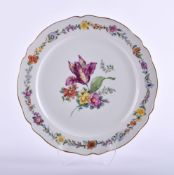 Large round serving plate KPM