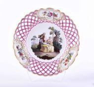 Plate Meissen around 1840/60