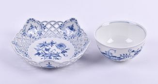 Bowl and confectionery bowl Meissen