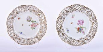 two plates KPM 18th century