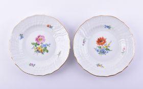 2 dessert plates Meissen