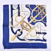Silk scarf Hermes Paris