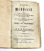 Handbuch der Aesthetik Gotha 1797oder Grundsätze zur Bearbeitung und Beurtheilung der