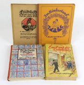 4 Kinderbücherdabei 1. *Emil und die Detektive* ein Roman für Kinder, Erich Kästner