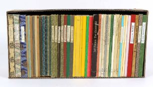 Konvolut von 48 BändchenBesonderheiten der Insel-Bücherei mit, Bibliographie 1912-19