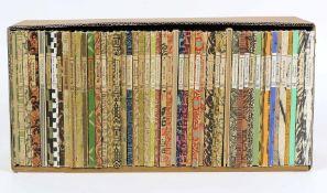 Konvolut von 50 Bild Bändchender Insel-Bücherei mit, 25.2 Busch, 95.3B Holbein, 100.