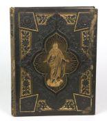 Familien-Chronik, Bibel470 S. m. Abb., Lederband mit religiöser Prägung, Gebrauchssp