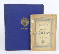 2x Annaberg 1896 u. 1908dabei *Festschrift zur 400 jährigen Jubelfeier der Stadt Anna