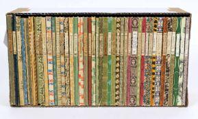 Konvolut von 43 Bändchender Insel-Bücherei mit. 23 Binding, 30.2 Rilke, 58 Huch, 126