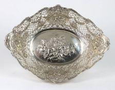 große Silber Schale punziert, Silber 800 dt. mit Halbmond & Krone, Gewihct ca. 323 Gr
