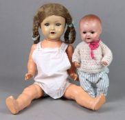 Puppen Baby und -mädchen