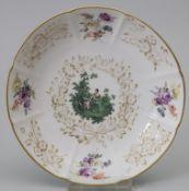 Zierteller / A decorative plate, Meissen, 19. Jh.