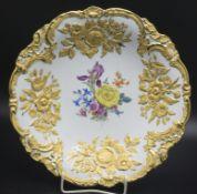 Prunkteller / A splendid plate, Meissen, 20. Jh.