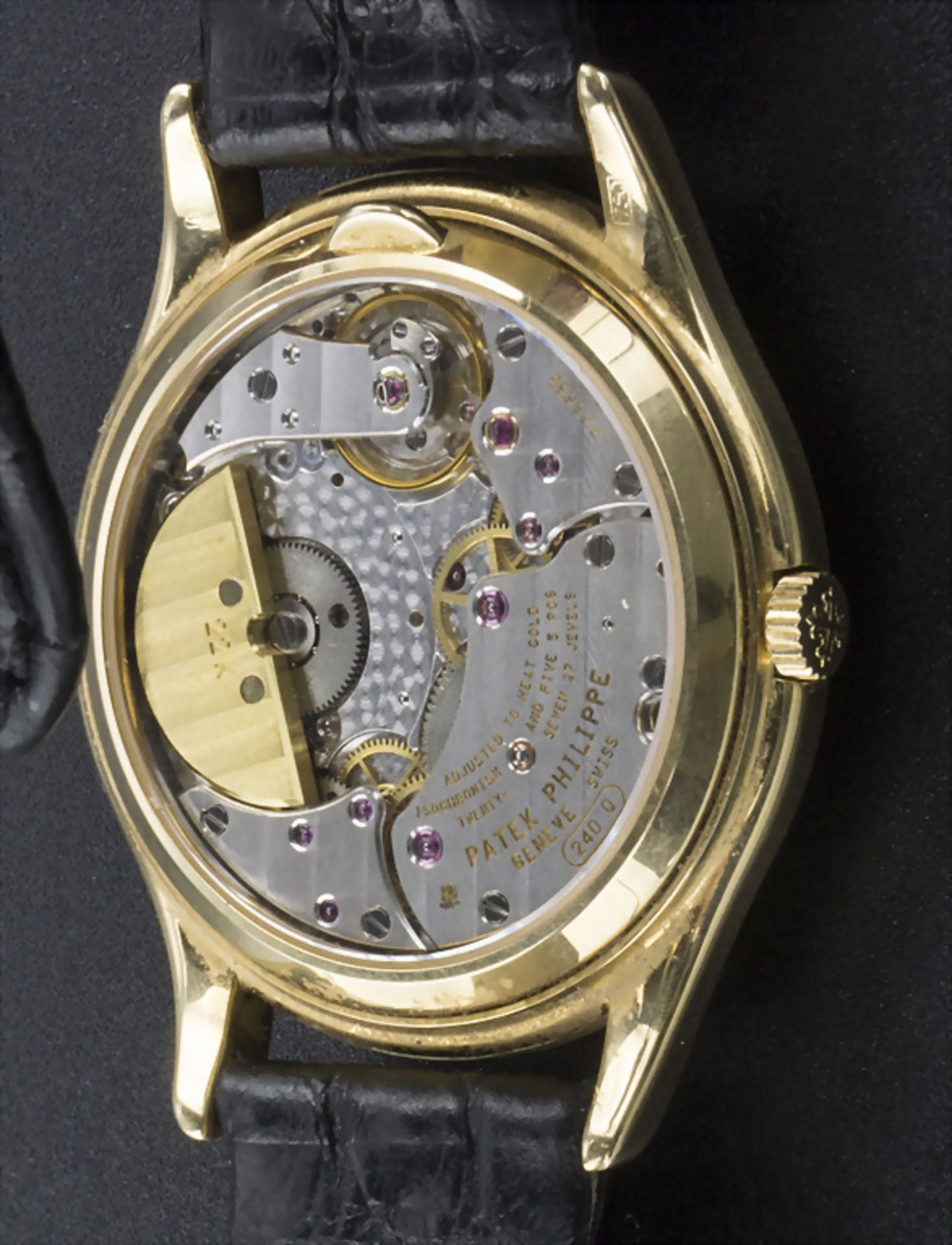 Armbanduhr, Automatik mit ewigem Kalender / A men's automatic wristwatch with perpetual ... - Image 4 of 7