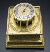 Tischuhr / A table clock, süddeutsch, um 1620