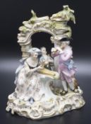 Figurengruppe 'Musizierende Familie' / A figural group of a 'A music making family', J.C. ...