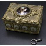 Musikdose / A music box, Frankreich, um 1900