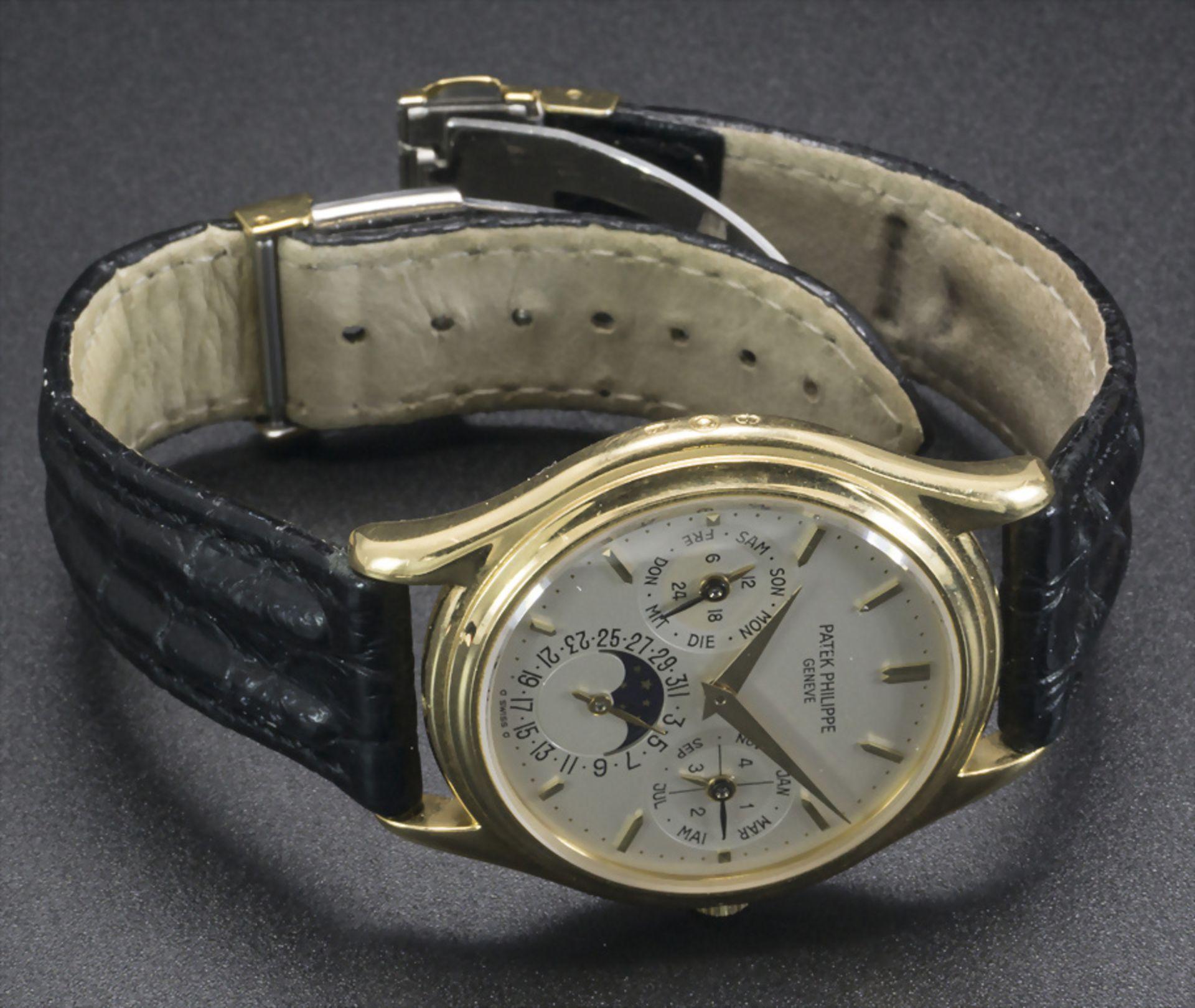 Armbanduhr, Automatik mit ewigem Kalender / A men's automatic wristwatch with perpetual ... - Image 6 of 7
