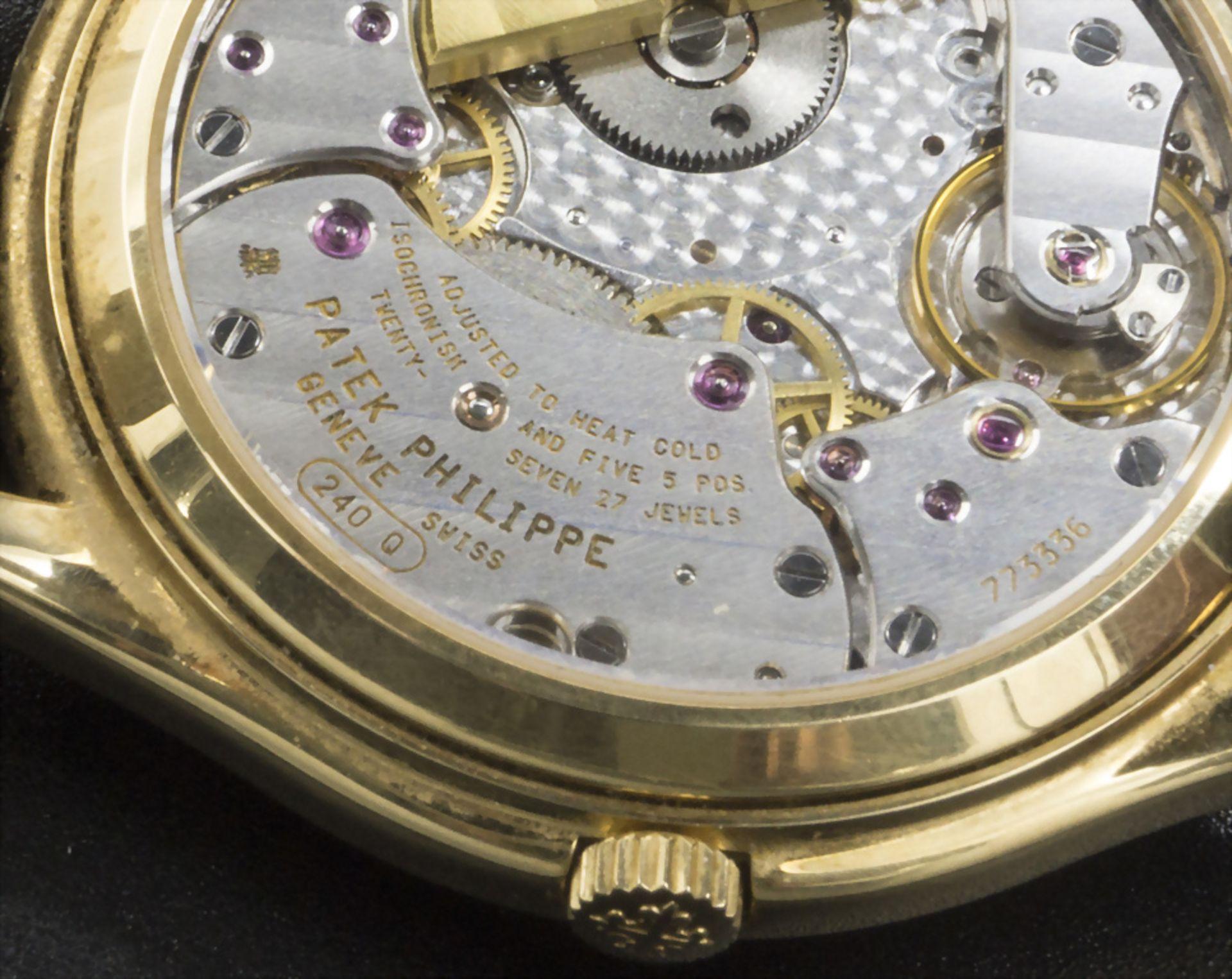 Armbanduhr, Automatik mit ewigem Kalender / A men's automatic wristwatch with perpetual ... - Image 5 of 7